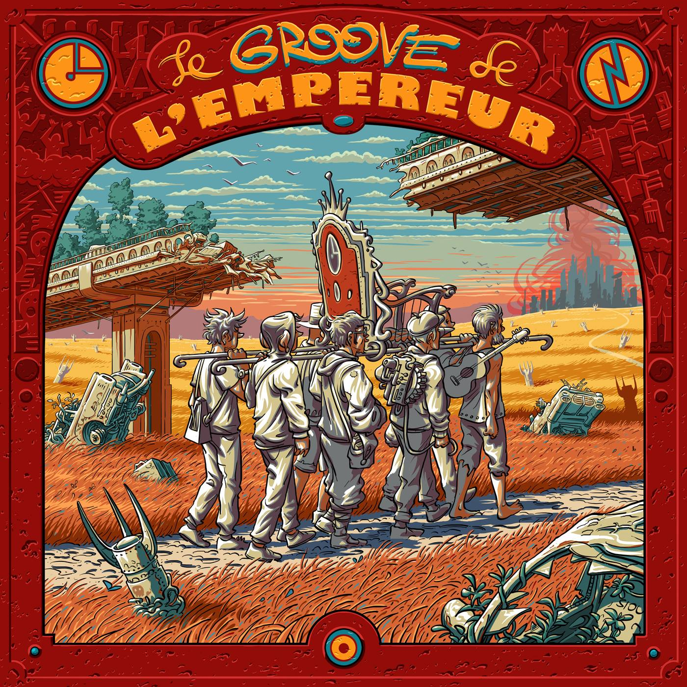 """Sortie de l'album ''Le Groove de l'Empereur"""""""