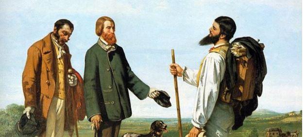 """Une expo, une oeuvre : """"Bonjour, Monsieur Courbet !"""""""