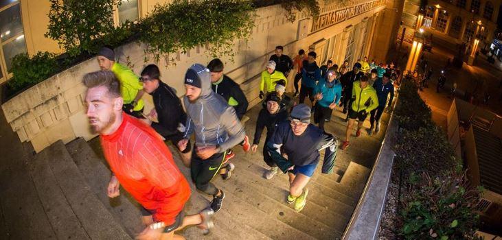 Cinquième édition de l'Urban trail nocturne de Montpellier
