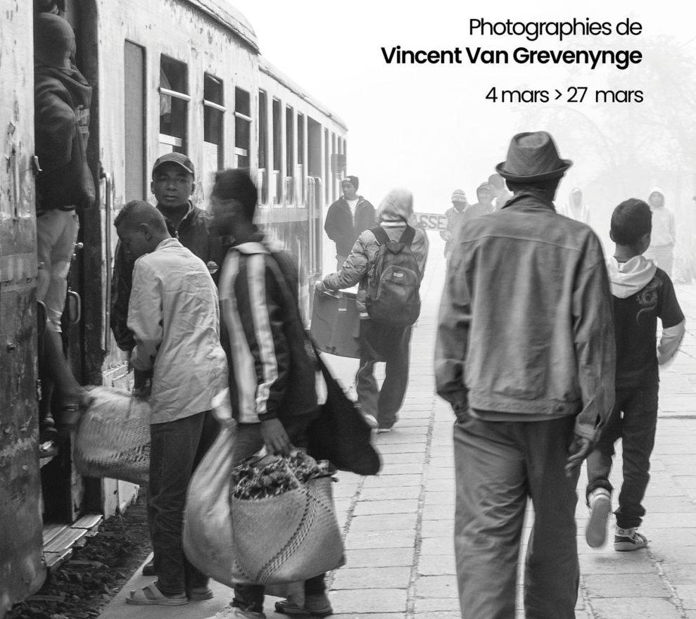 « Madagascar : train de vie » par Vincent Van Grevenynge