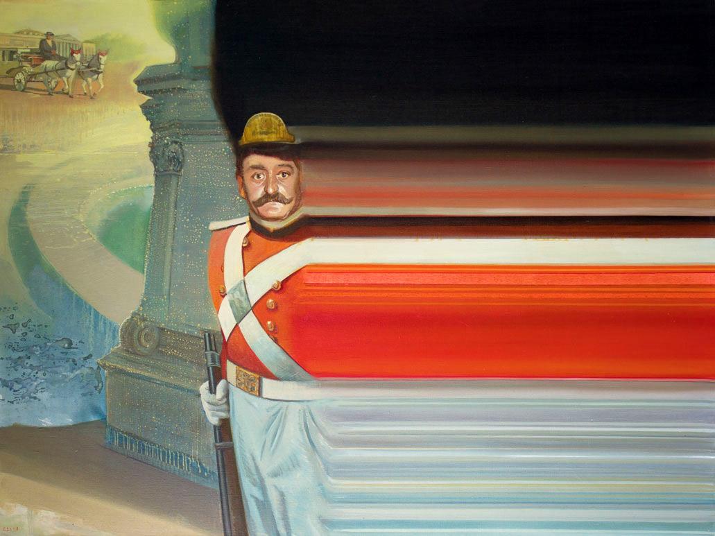 Igor Gusev, le peintre du bug
