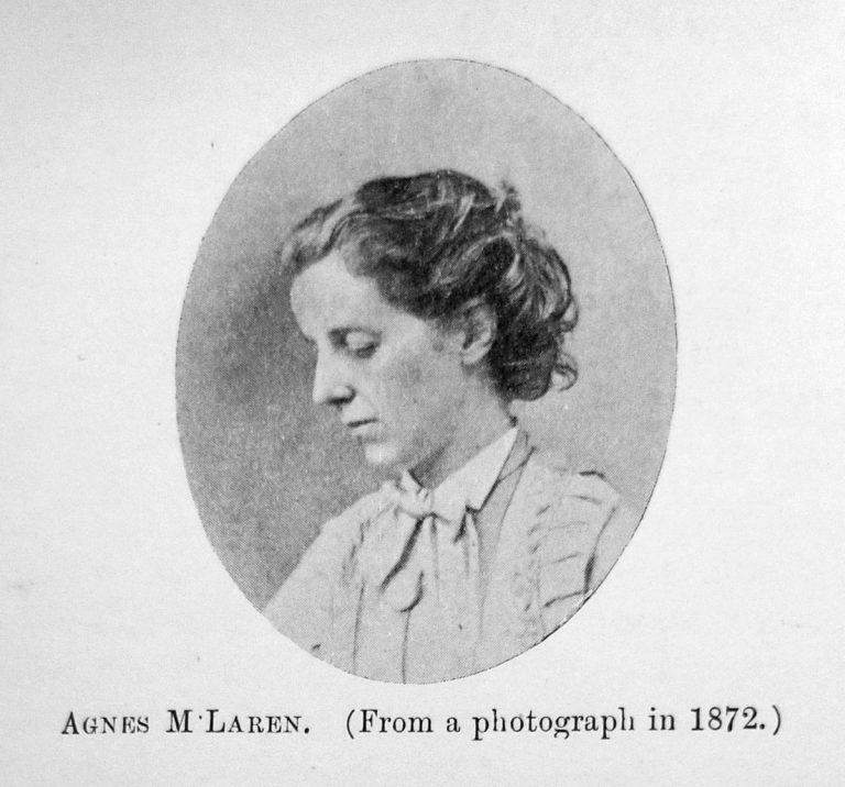 Agnès McLaren, première femme diplômée de la Faculté de Médecine