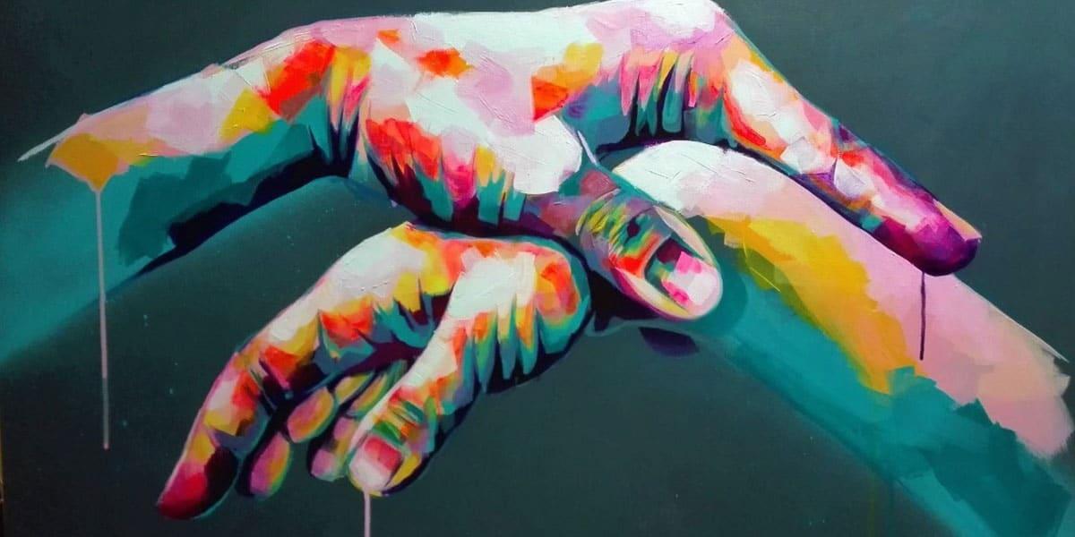 Le street-artiste Fikas au muRum