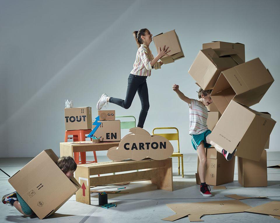 """""""Tout en carton"""" : l'expo de l'été à Tropisme"""