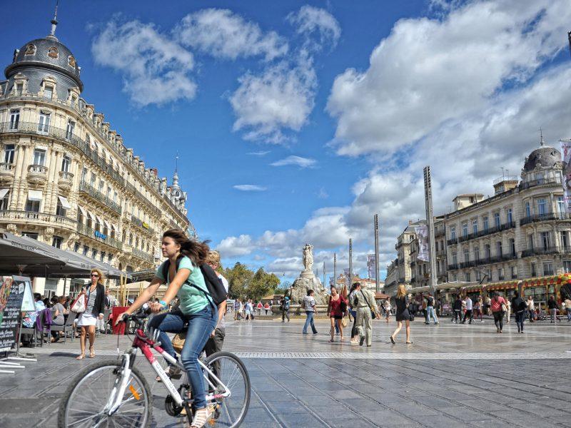 Quartier Comédie © Ville de Montpellier