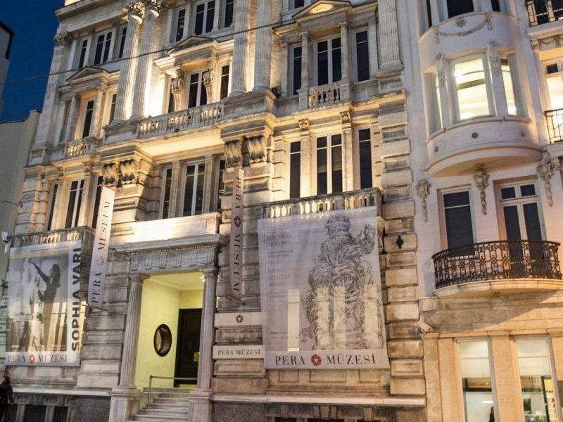 Le musée de Pera, l'un des centres névralgiques de la Biennale d'Istanbul.