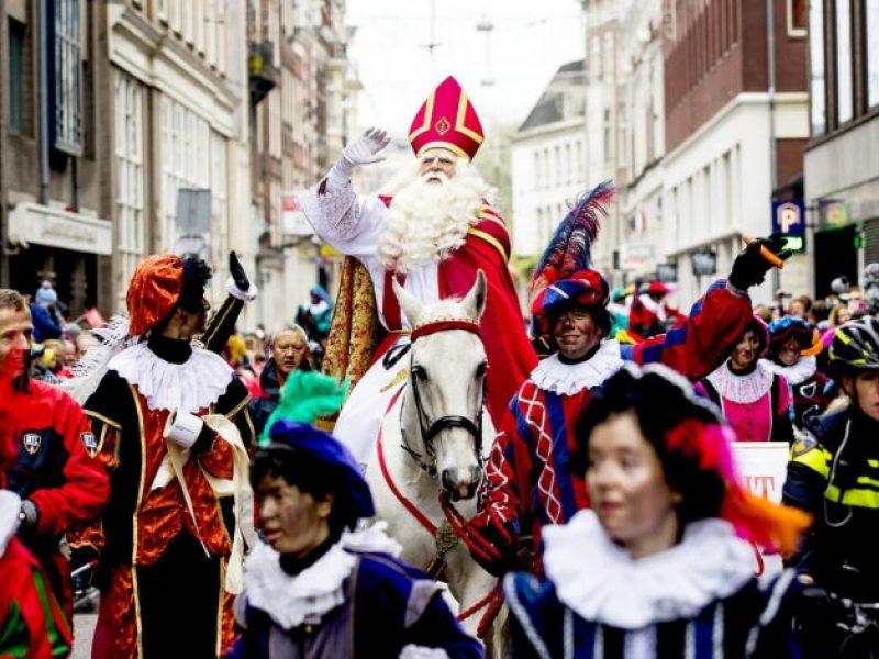 Sinterklaas à Amsterdam le 18 novembre 2018. Photo © ANP KOEN VAN WEEL